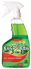 Anti-bacterial Cleaner 3-in-1 Disinfect/Clean/Bed Bugs 750ml