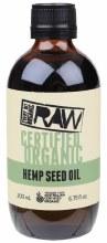 EVERY BIT ORGANIC RAW -Hemp Seed Oil  200ml