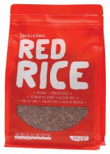 FORBIDDEN - Red Rice 97% Fat Free - High Protein 500g