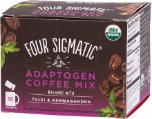 FOUR SIGMATIC -Adaptogen Coffee Mix Packets With Tulsi & Ashwagandha