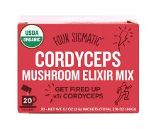 FOUR SIGMATIC -Mushroom Elixir Mix Packets With Cordyceps 20