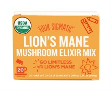 FOUR SIGMATIC -Mushroom Elixir Mix Packets With Lion's Mane 20