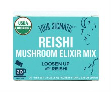 FOUR SIGMATIC -Mushroom Elixir Mix Packets With Reishi 20