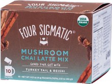 FOUR SIGMATIC -Mushroom Chai Latte Mix Packets With Turkey Tail & Reishi