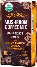 FOUR SIGMATIC -Mushroom Coffee Mix Ground With Lion's Mane & Chaga