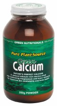 GREEN NUTRITIONALS -Green Calcium (Plant Source) Powder 250g
