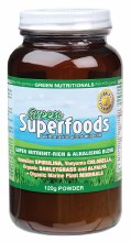 GREEN NUTRITIONALS -Green Superfoods Powder 120g