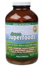 GREEN NUTRITIONALS -Green Superfoods Powder 450g