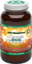 GREEN NUTRITIONALS -Organic Green Vitamin C Powder - Amber Glass