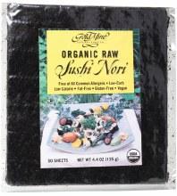 GOLD MINE -Sushi Nori Organic Raw (50 Sheets) 125g