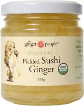 THE GINGER PEOPLE -Pickled Sushi Ginger  190g