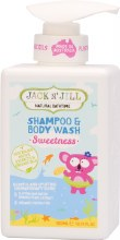 JACK N' JILL -Shampoo & Body Wash Sweetness 300ml