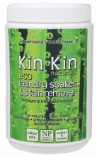 KIN KIN NATURALS - Laundry Soaker & Stain Remover Lime & Eucalypt 1.2kg