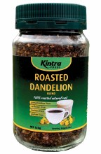 KINTRA FOODS -Roasted Dandelion Blend Granular Blend 150g