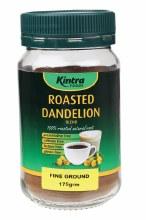KINTRA FOODS -Roasted Dandelion Blend Fine Blend 175g