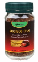KINTRA FOODS -Rooibos Chai - Granular Rooibos Blend with Chai Spices 125g