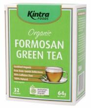 KINTRA FOODS -Formosan Green Tea Tea Bags x 32 64g