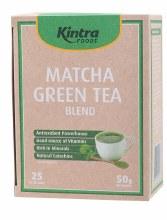 KINTRA FOODS -Matcha Green Tea Tea Bags x 25 50g