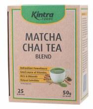 KINTRA FOODS -Matcha Chai Tea Tea Bags x 25 50g