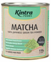 KINTRA FOODS -Matcha Green Tea 100% Japanese Green Tea Powder 110g
