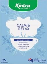 KINTRA FOODS -Herbal Tea Bags Calm & Relax