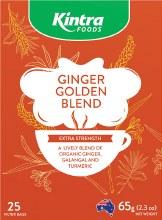 KINTRA FOODS -Herbal Tea Bags Ginger Golden Blend