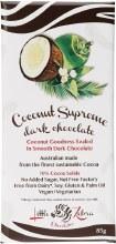 LITTLE ZEBRA CHOCOLATES -Coconut Supreme Dark Chocolate 85g
