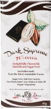 LITTLE ZEBRA CHOCOLATES -Dark Supreme 70% Cocoa 85g