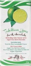 LITTLE ZEBRA CHOCOLATES -Tahitian Lime Dark Chocolate 85g