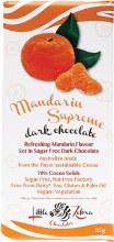 LITTLE ZEBRA CHOCOLATES -Mandarin Supreme Dark Chocolate 85g