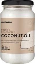 MELROSE -Full Flavour Coconut OilOrganic