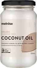 MELROSE -Flavour Free Coconut OilOrganic