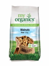 Organic Walnuts Raw 200gm