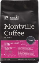 MONTVILLE COFFEE -Coffee Beans Sunshine Coast Blend 250g