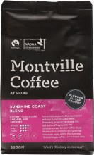 MONTVILLE COFFEE -Coffee Ground (Plunger) Sunshine Coast Blend 250g