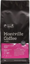 MONTVILLE COFFEE -Coffee Ground (Plunger) Sunshine Coast Blend 1kg