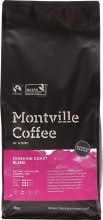 MONTVILLE COFFEE -Coffee Ground (Espresso) Sunshine Coast Blend 1kg