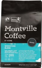 MONTVILLE COFFEE -Coffee Beans Woodford Blend 250g