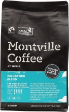MONTVILLE COFFEE -Coffee Ground (Plunger) Woodford Blend 250g
