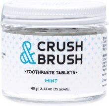 Crush & Brush Toothpaste TabletsMint 60g