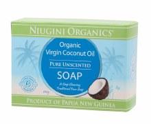 NIUGINI ORGANICS -Soap Coconut Oil - Pure (Unscented) 100g