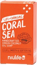 NIULIFE -Coconut Oil SoapCoral Sea
