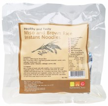 NUTRITIONIST CHOICE - Brown Rice Instant Noodles Miso 60g
