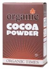 ORGANIC TIMES -Cocoa Powder  200g