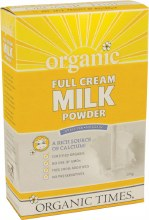 ORGANIC TIMES - Milk Powder Full Cream 300g