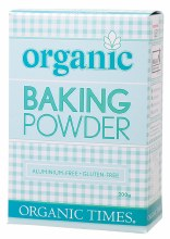 ORGANIC TIMES - Baking Powder  200g