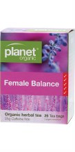 PLANET ORGANIC - Herbal Tea Bags Female Balance 25
