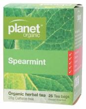 PLANET ORGANIC - Herbal Tea Bags Spearmint 25