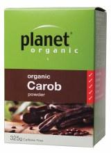 PLANET ORGANIC -Carob Powder  325g