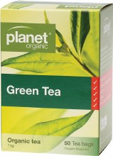 PLANET ORGANIC - Herbal Tea Bags Green Tea 50
